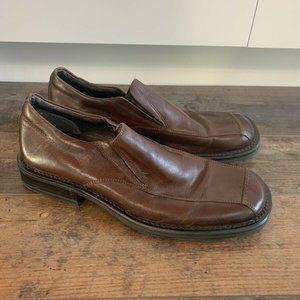 Men's Alfani Musician Slip On Leather Dress Shoes